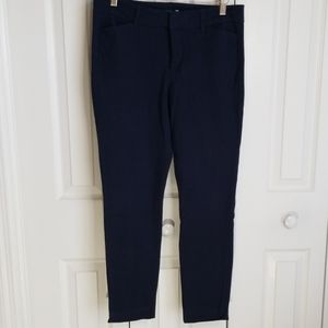 Old Navy Navy Blue Pixie Cropped Pants